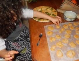 Biscuits de Noël à l'orange confite