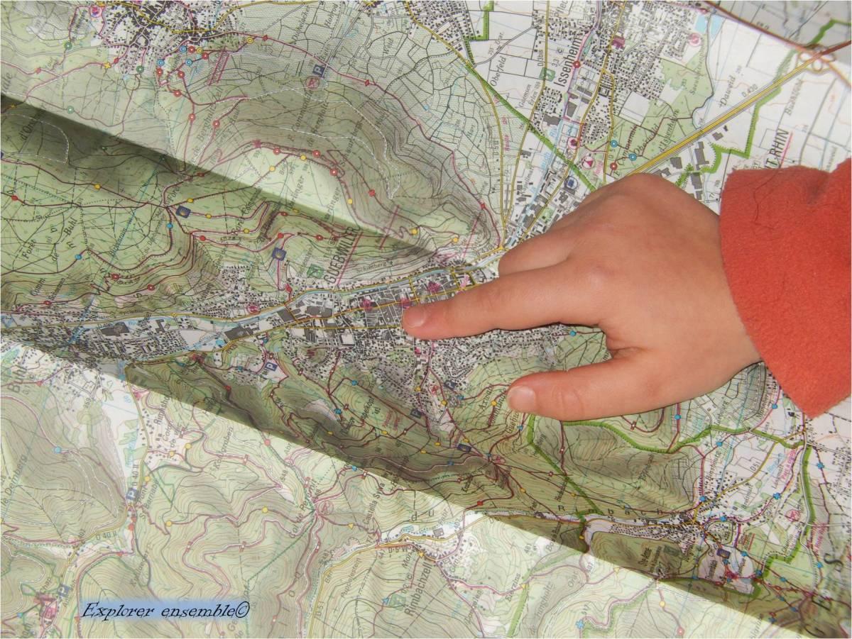 Pourquoi et comment apprendre aux enfants à lire une carte ?