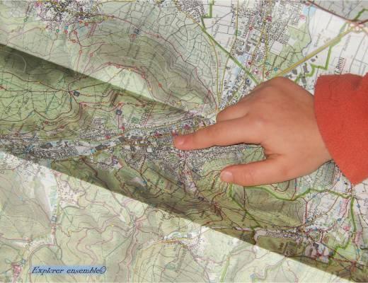 lire une carte avec enfants développer compétences spatiales des enfants