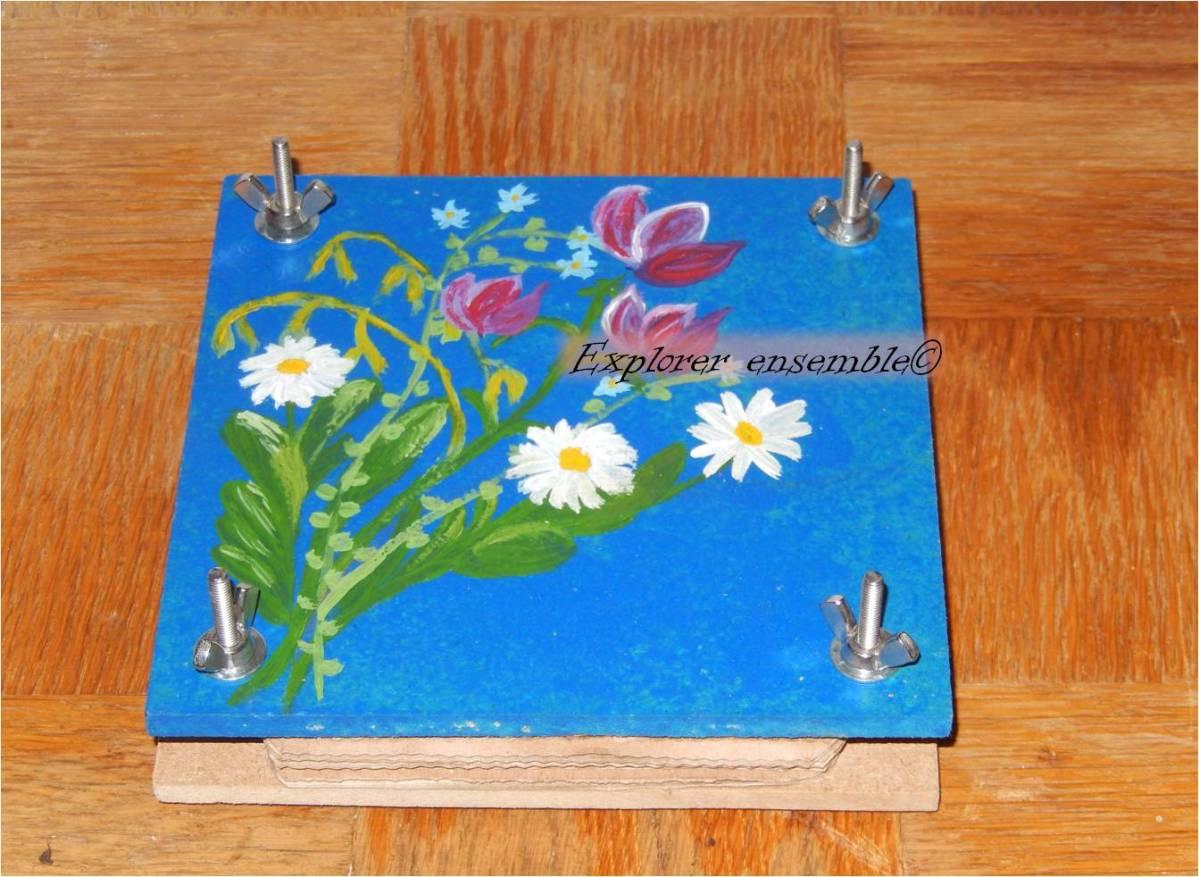 Tutoriel : fabriquer un presse-fleurs