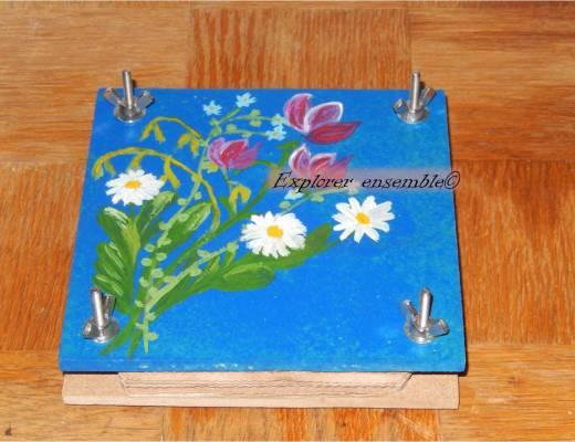 tutorial flower press