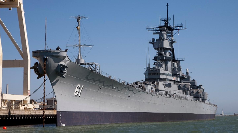 Battleship Iowa Teacher Kit
