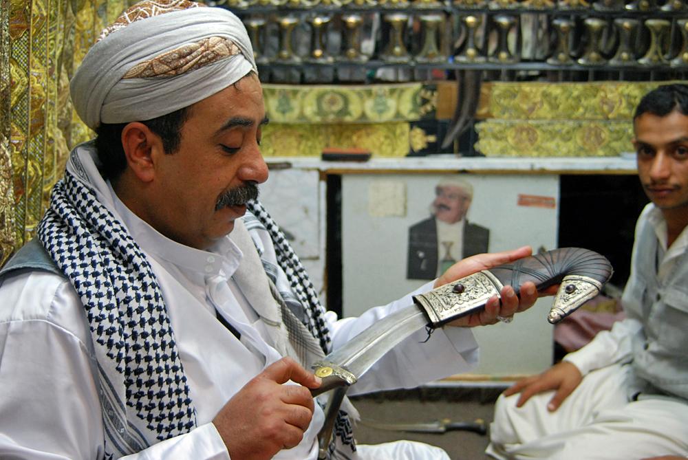 Hussein - the perfect sanaani!