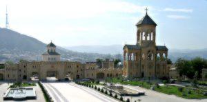 View from Sameba