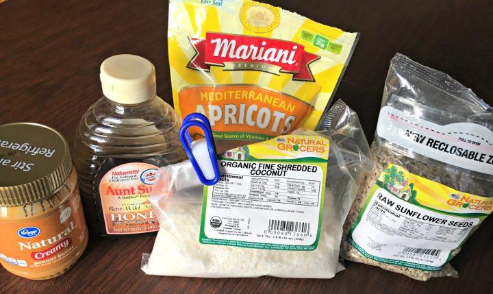 Gluten free granola bar ingredients