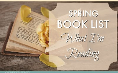 Spring Book List: What I'm Reading