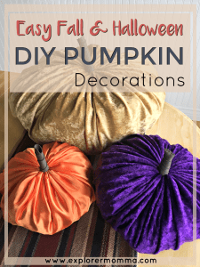 Easy DIY Pumpkin Decor pin