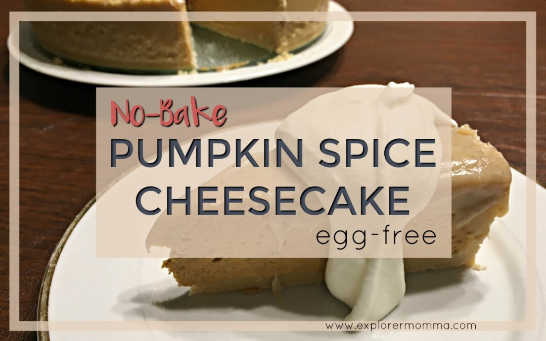 No-Bake Pumpkin Spice Cheesecake