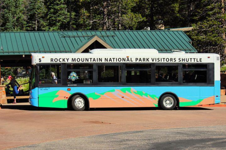 Rocky Mountain National Park Visitor's Shuttle, Estes Park Hikes for kids #estespark #colorado