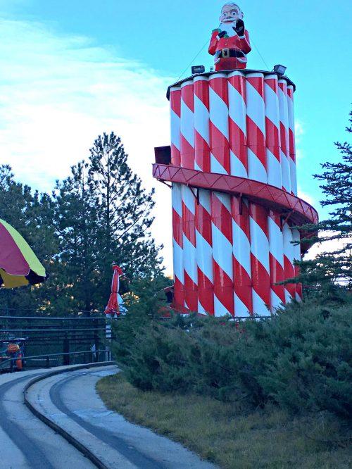 Santa's Workshop Colorado slide