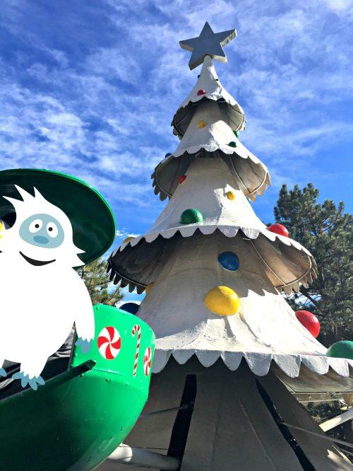 Santa's Workshop Colorado tree