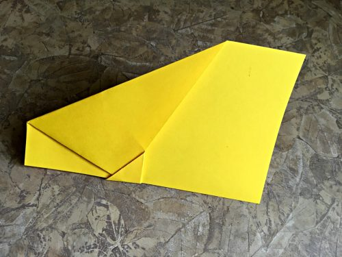 Best paper airplane ever center fold