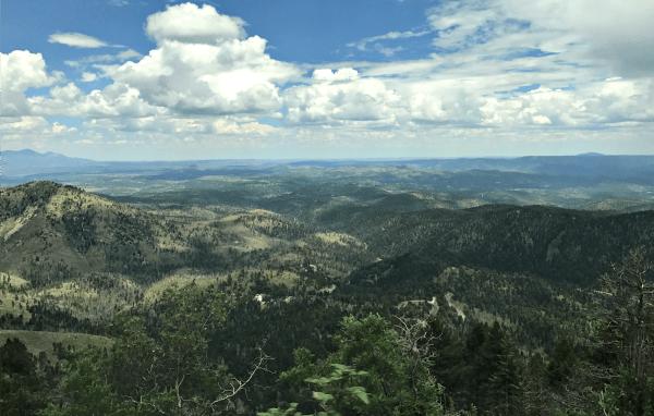 Ski Apache view