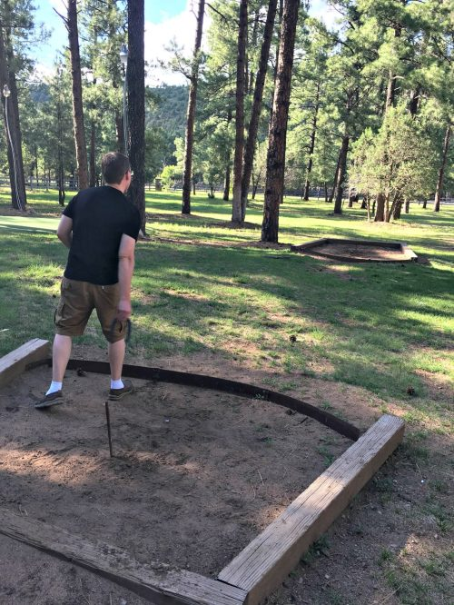 Things to do in Ruidoso, New Mexico horseshoes
