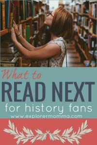 What to read next for history fans, pin