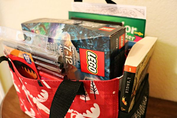Hospital care packages for kids close-up