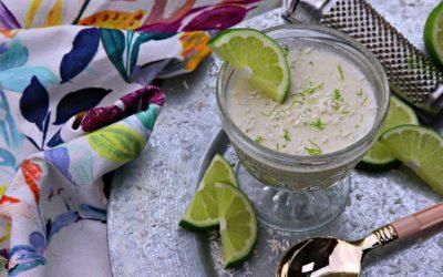 Keto Coconut Lime Dessert Mousse
