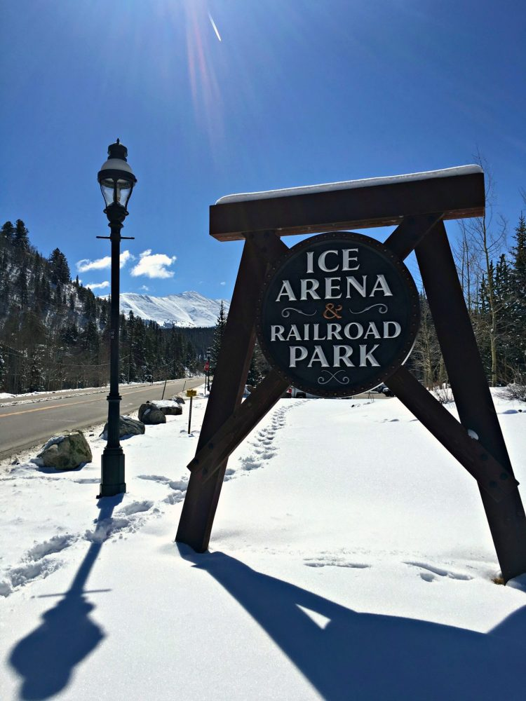 Ice arena & railroad park, Breckenridge