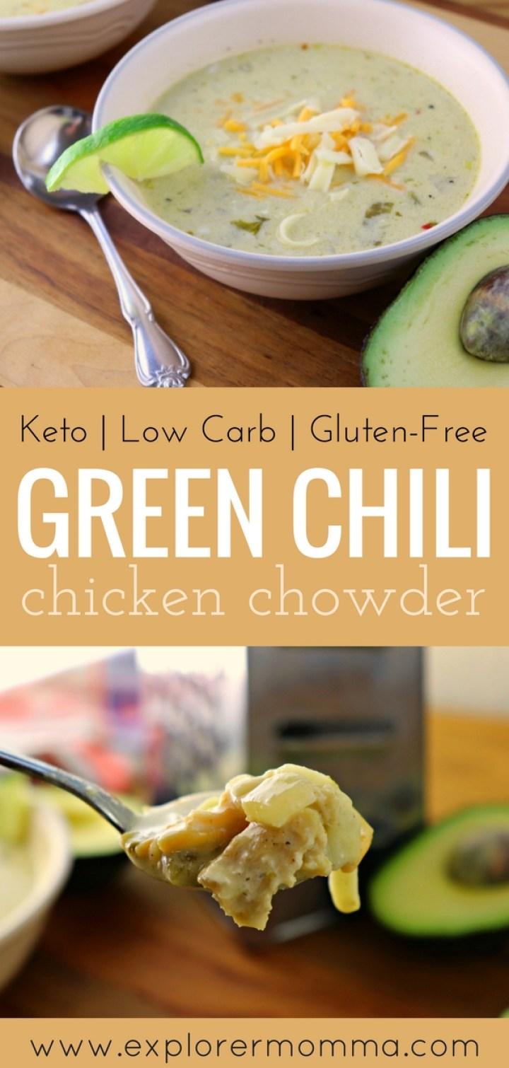 green chili chicken chowder pin1