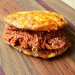 Pulled BBQ Chicken square closeup