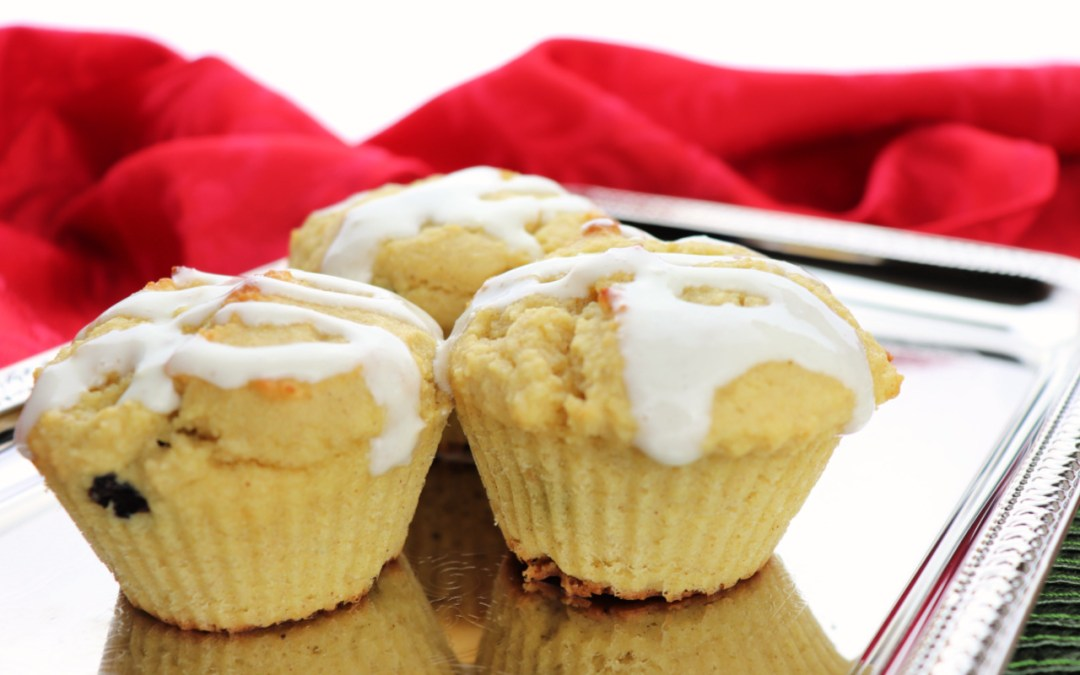 Low Carb Breakfast Muffins: Cranberry Orange