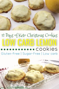 Low Carb Lemon Cookies are the perfect low carb holiday cookie. Mascarpone cheese, melt in your mouth citrus bite. These keto cookies are the perfect compliment to your Christmas treats. #ketodietrecipes #lowcarbrecipes