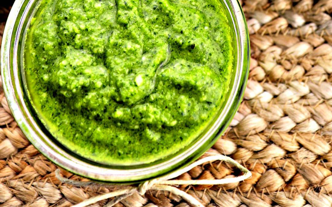 The Best Easy Low Carb Keto Pesto