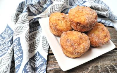 Keto Snickerdoodle Muffins