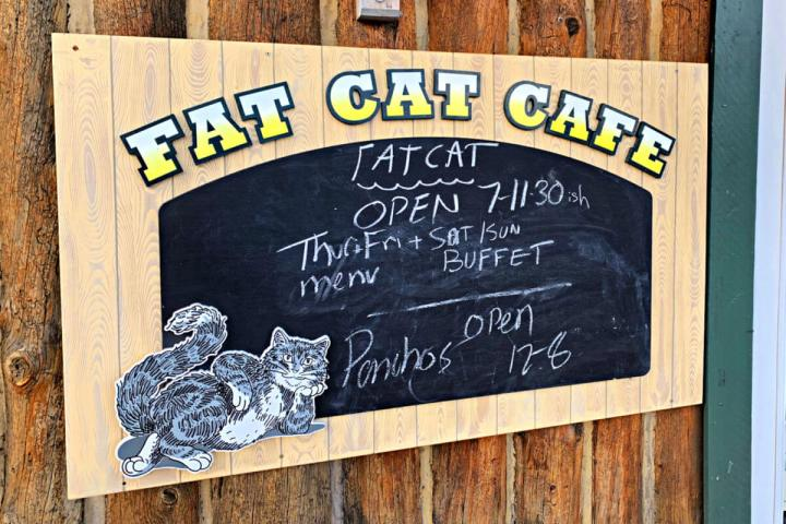 Fat Cat Cafe is my absolute favorite place to eat in Grand Lake CO. #fatcatcafe #grandlakeco