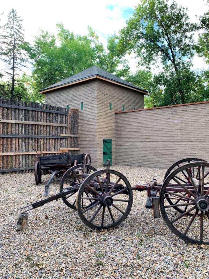 Historic Old For Benton Trading Post and Museum, Montana #fortbenton #visitmontana