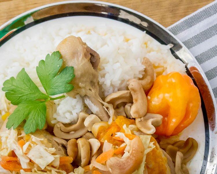 Haitian Cashew Chicken-24