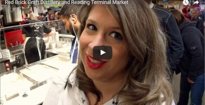 VLOG: Red Brick Craft Distillery and Reading Terminal Market