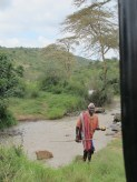 Joseph the fearless Honey man at Laikipia Wilderness
