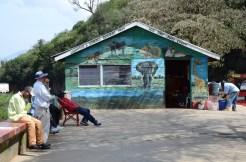 Gas station on the way from Nairobi to the Maasai Mara.