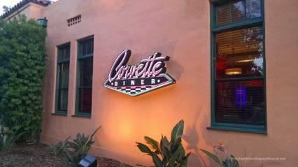 Corvette Diner Exterior