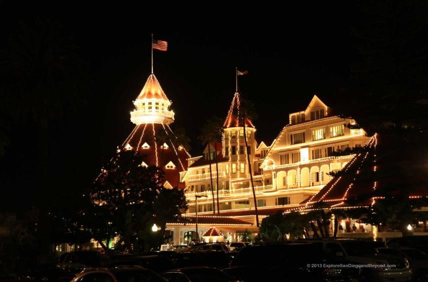 Christmas Hotel Del Coronado Explore San Diego