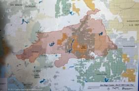 2003 Cedar Fire Map