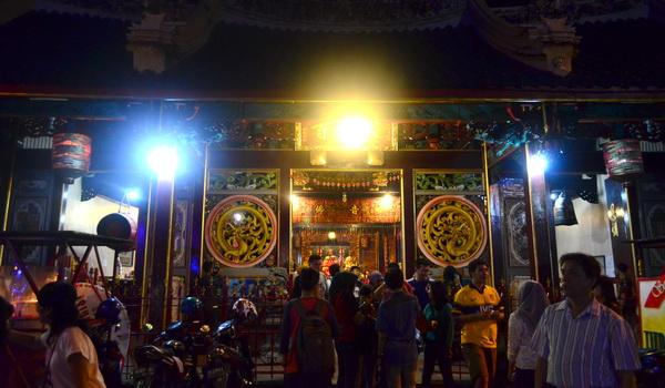 Interior Kelenteng Tay Kak Sie Semarang