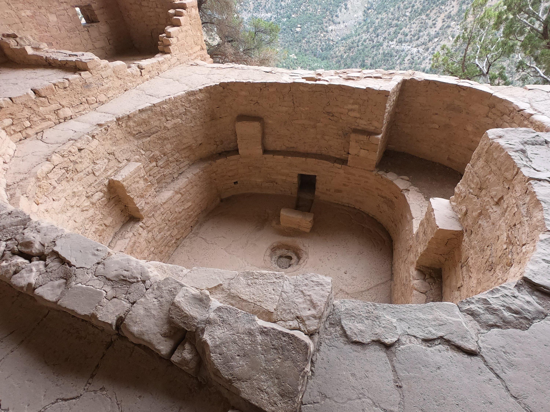 Kiva at the Balcony House - Mesa Verde National Park