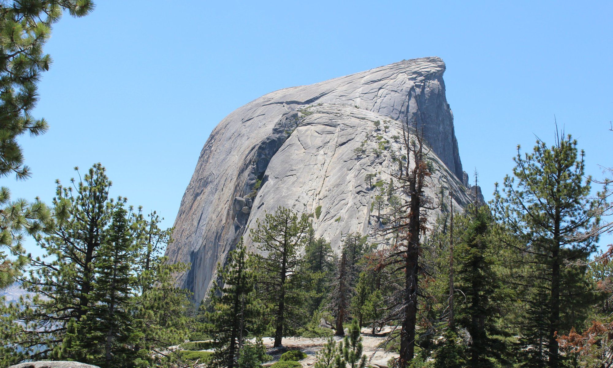 Half Dome - Yosemite National Park - 7-31-2019