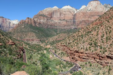 Overlook near the tunnel - Zion National Park