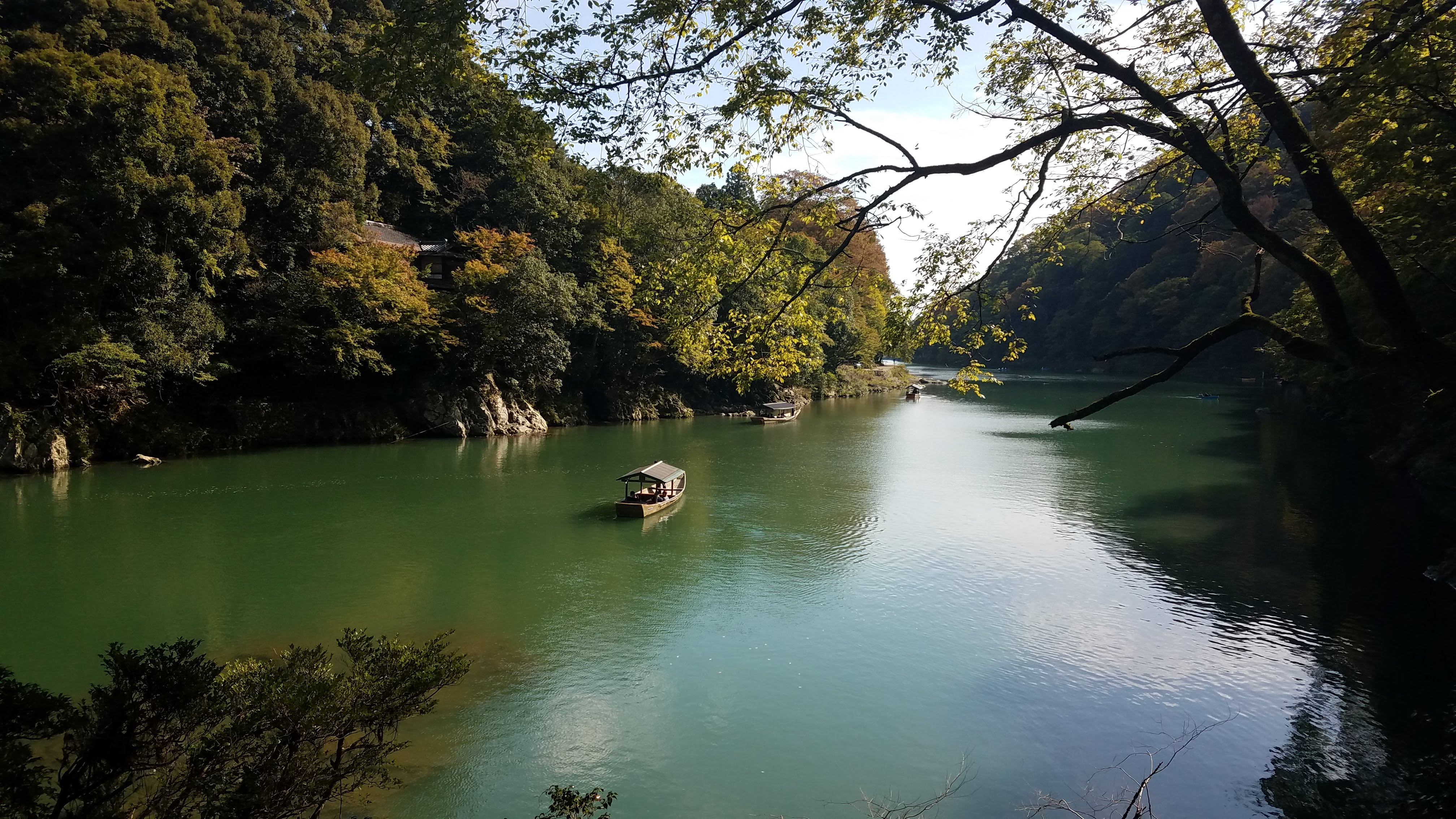 Katsura River - Arashiyama - 10-23-2019