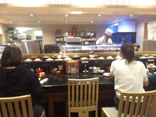 Sushi restaurant in Osaka