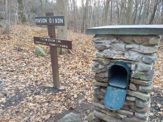 Entering Pennsylvania on the Apppalachian Trail - 1-11-20