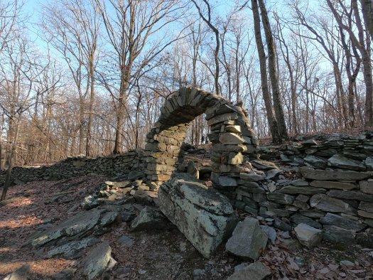 Civil War Era Stonework at Crampton Gap - 12-27-2020