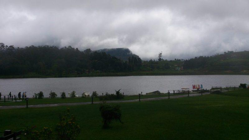 Mountain Range Behind the Gregory Lake