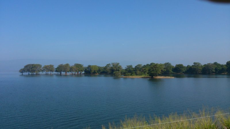 Udawalawe Reservoir - A view from the Dam