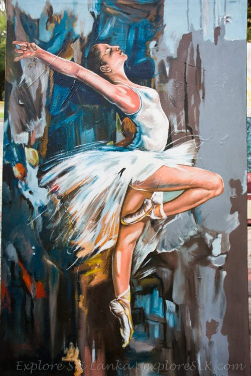 dancing woman painting