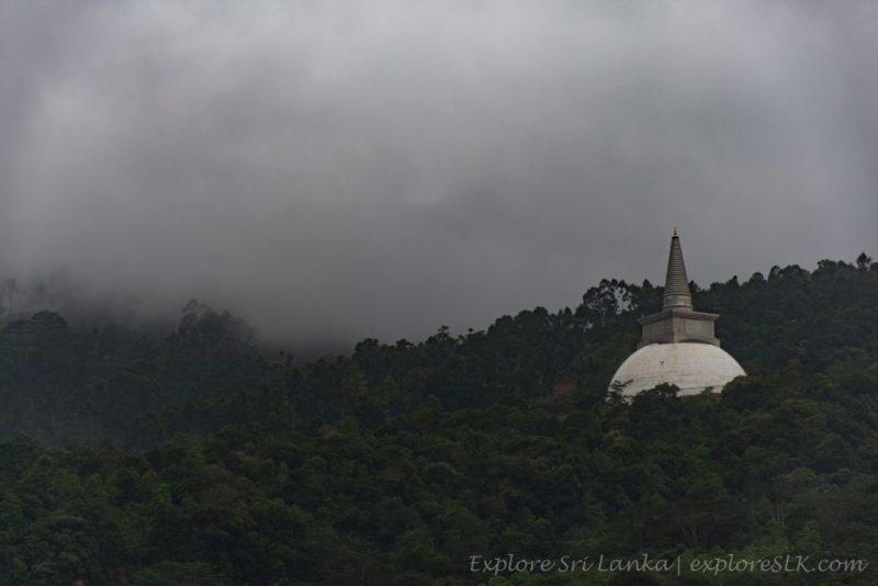 View of Mahaweli Maha Seeya from Kotmale Dam
