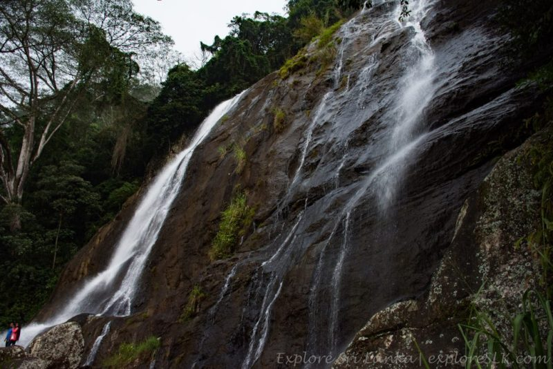 Hunas Falls and the mini waterfall